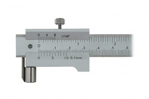 Parallel marking vernier caliper 200/0.1 mm (carbide scriber)